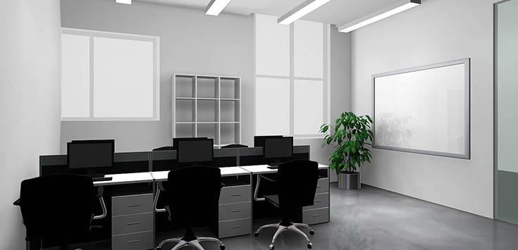 软件园,办公室装修设计施工面积是830平米,客户是一家互联网金融企业