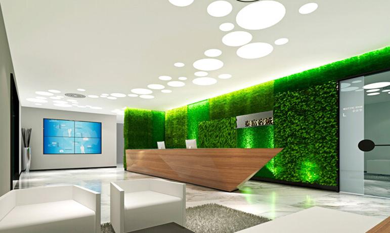 上海办公室设计公司办公室的墙面设计哪些技巧