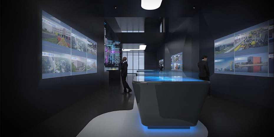 上海办公室装饰效果图在设计的时候应该注意什么?