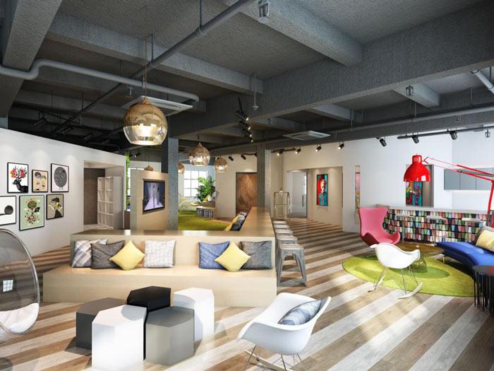 高端办公室装修中餐厅设计需要注意什么?