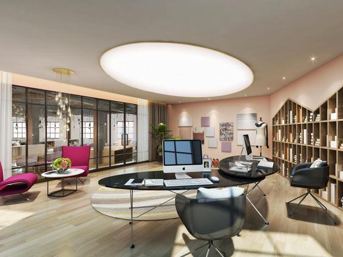 如何让商务楼装修内部设计更让人舒服?