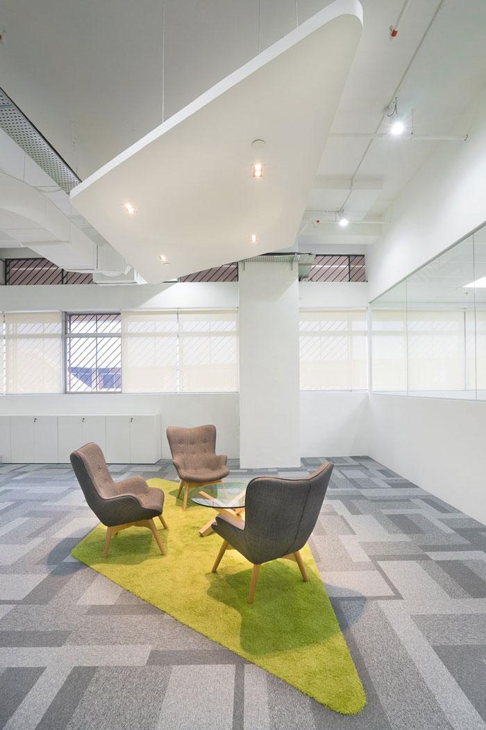 奉贤金汇办公室装修如何更好的做出隔间的功能?