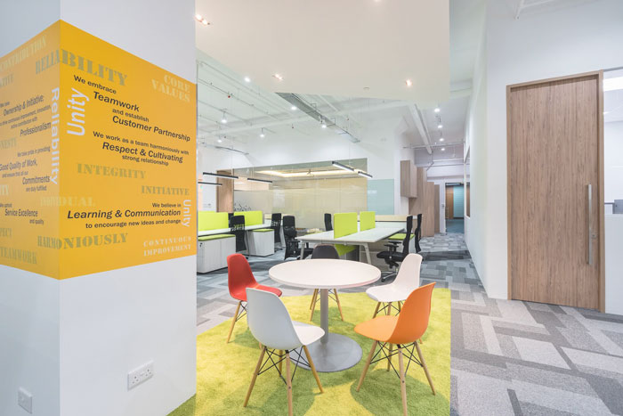 徐汇办公室装修中墙面装修需要注意哪些什么?
