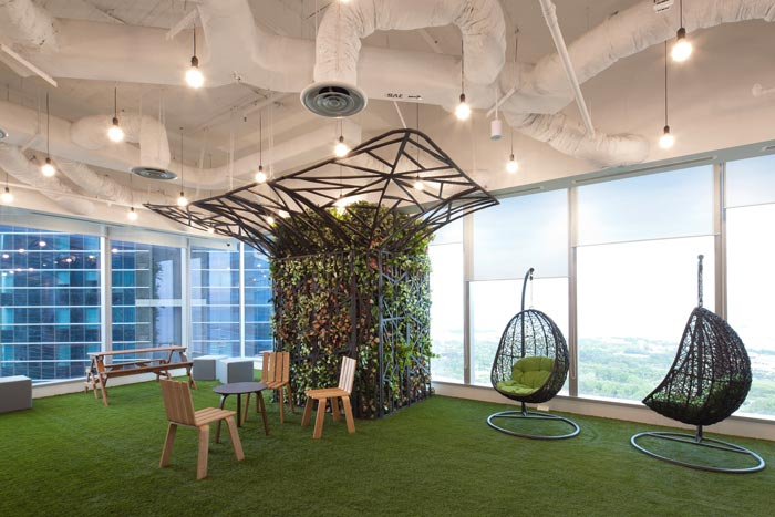 小面积办公室设计的风格样式