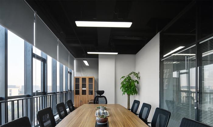 办公室装潢设计如何选择柜子的材质&纹路?
