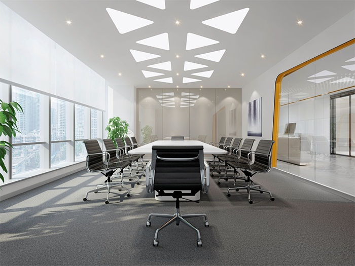 会议室装修效果图及设计需要注意哪些事项?