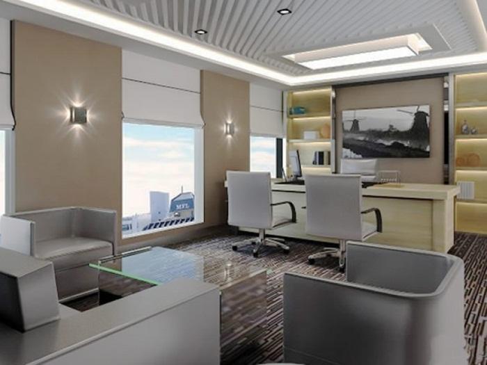 如何利用办公室装饰设计解决小空间大视觉?