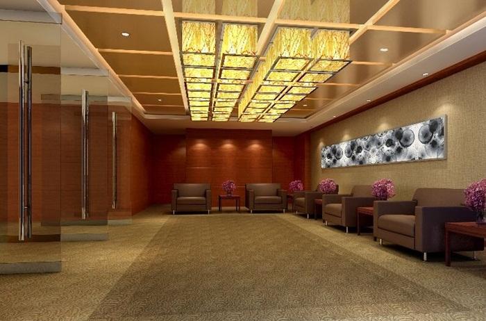 办公室整体装修如何提高整体的空间感?