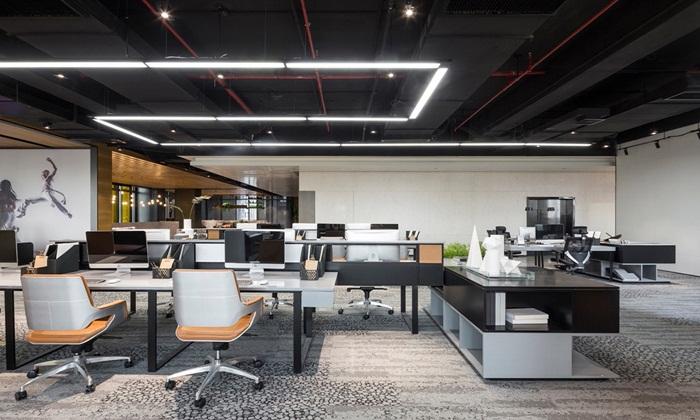 办公室装修中所使用的抛晶砖具有哪些特点?