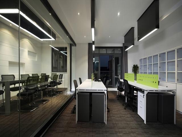 二百平方米办公室装修设计效果展示